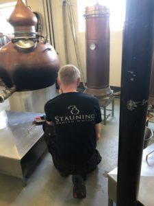 Stauning Distillery at Work